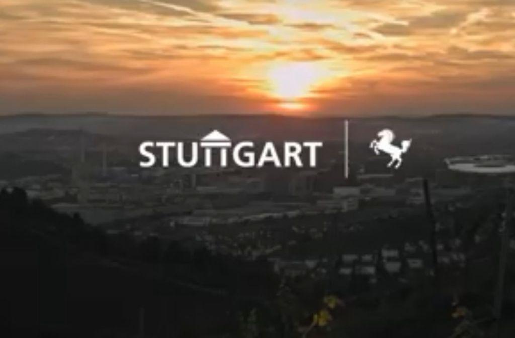 Den neuen Image-Film für Stuttgart haben die Stadt und Stuttgart-Marketing gemeinsam finanziert. Foto: Screenshot