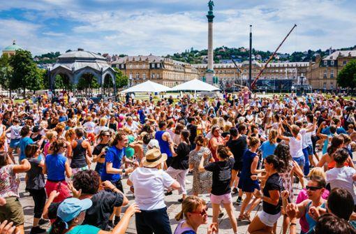 Ein Tanzfestival mittendrin
