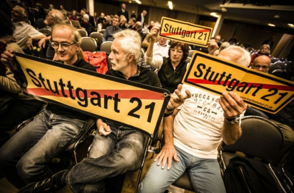 """Stuttgart 21 wird nach Medienberichten Thema im ARD-Krimi """"Tatort. Die Folge soll nächstes Jahr ausgestrahlt werden. Foto: Lichtgut/Leif Piechowski"""