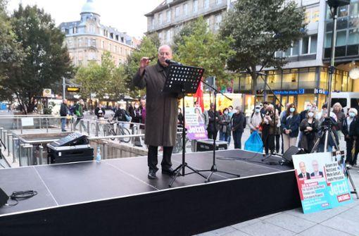 Gregor Gysi macht Station in Landeshauptstadt