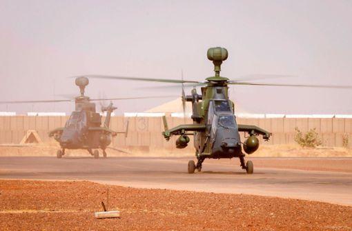 Kampfhubschrauber Tiger hebt sicherheitshalber nicht mehr ab