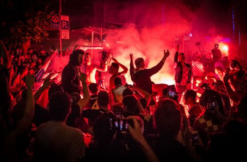 Liveblog: Kroatien im Finale – die Theo explodiert