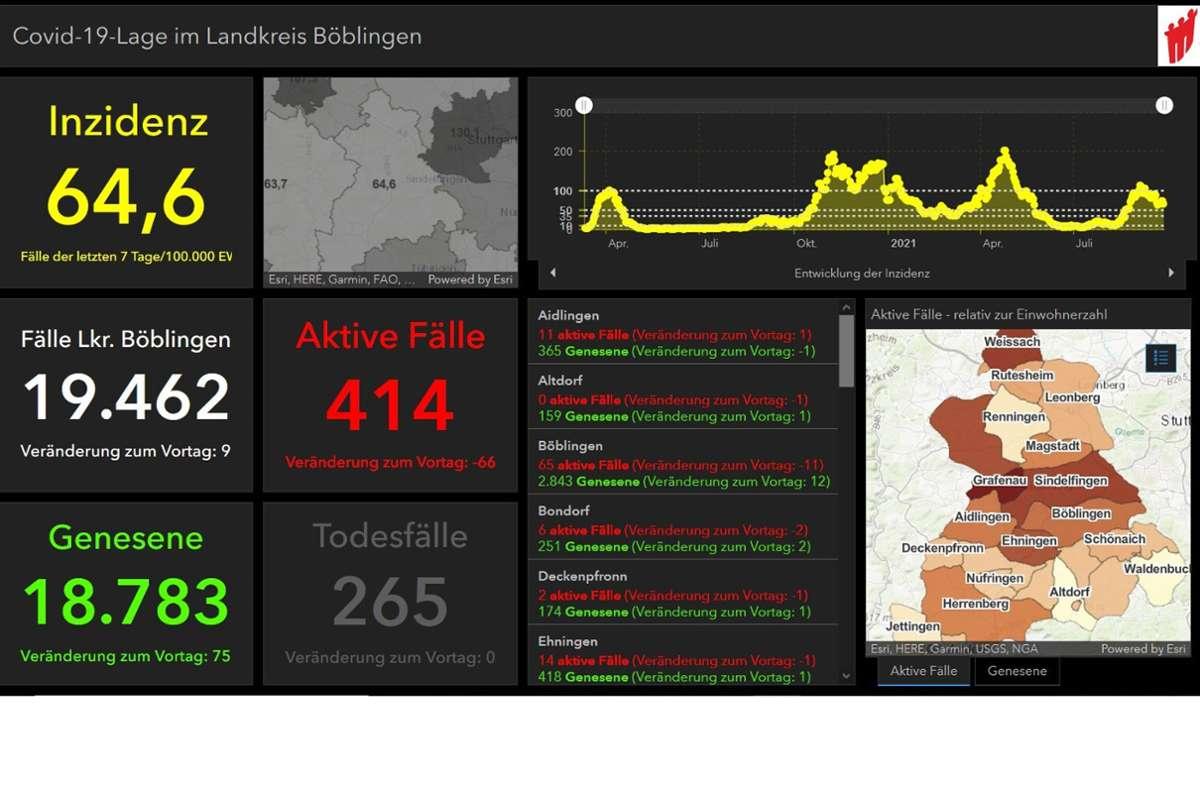 Das bisherige Dashboard wird abgeschafft. Der Landkreis ändert seine Corona-Informationen. Foto: lrabb.de