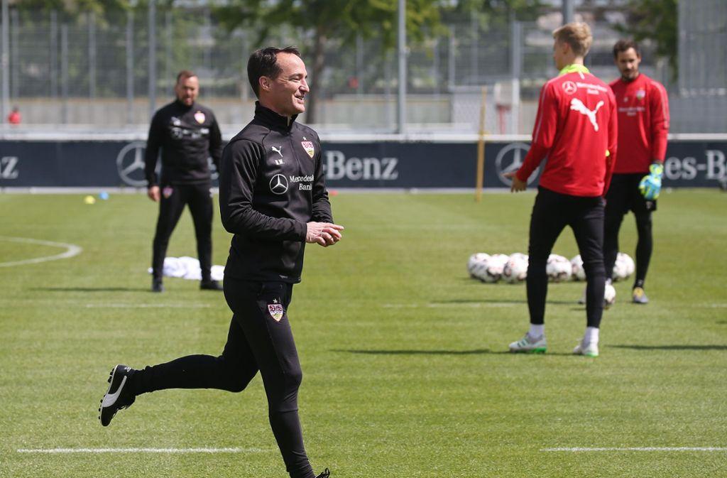 Nico Willig und der VfB Stuttgart reisen an diesem Samstag zum FC Schalke 04. Foto: Pressefoto Baumann