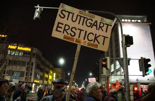 Sperrung wegen Demo am Neckartor