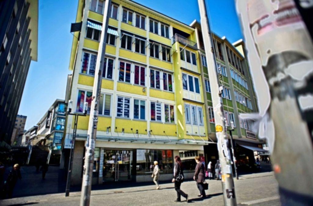 Das Haus des ehemaligen Schreibwarenhändlers Haufler am Marktplatz hat den Eigentümer gewechselt. Foto: Lichtgut/Max Kovalenko