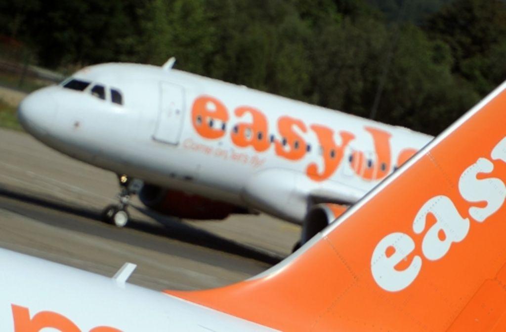 Von 2015 an wird auch die britische Fluggesellschaft Easyjet  von Stuttgart aus fliegen. Foto: dpa