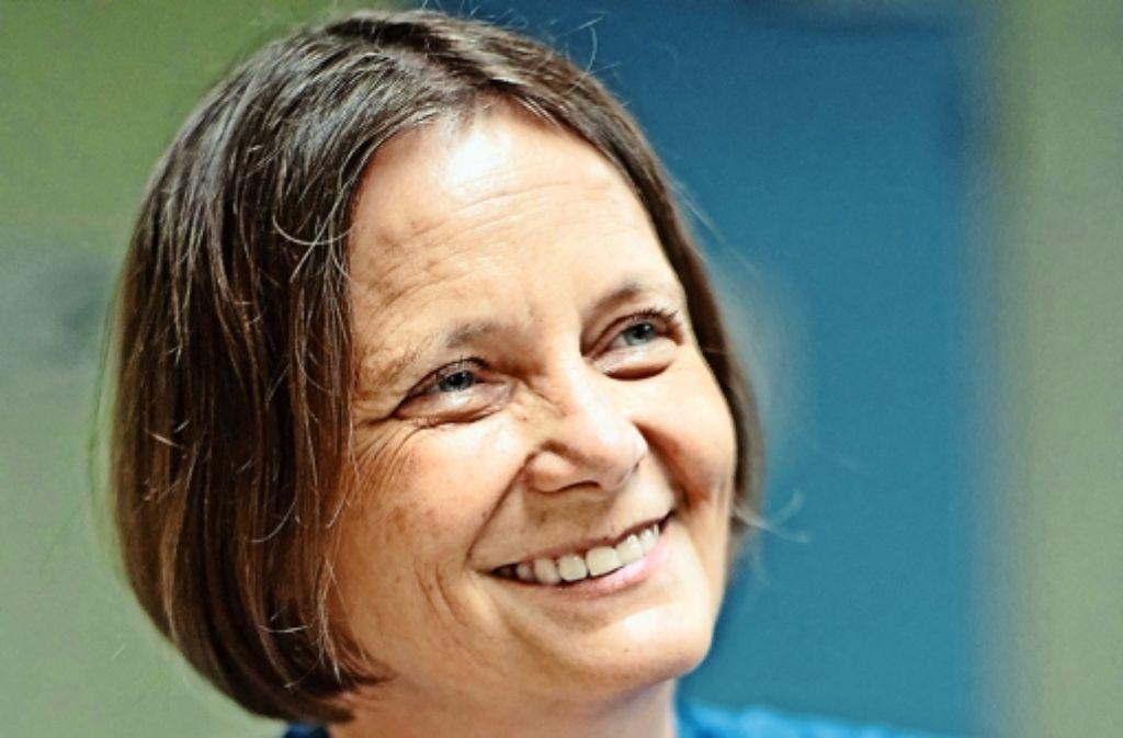 Die Sprecherin Regina Ammicht Quinn  beobachtet, dass sich das Themenspektrum am Institut ständig erweitert. Foto: Metz, Uni Tübingen