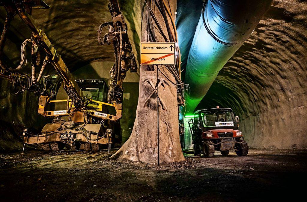 Im Bereich der Neckarvororte tut sich die Bahn beim Tunnelbau schwer. Foto: Lichtgut/Max Kovalenko