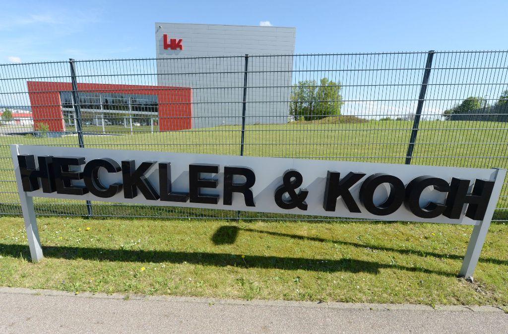 Die Waffenschmiede Heckler & Koch verweigert die Auslieferung einer Abschussvorrichtung für ein Granatgewehr an einen amerikanischen Rüstungskonzern. Gegen die Schwaben wurde nun Klage eingereicht. Foto: dpa
