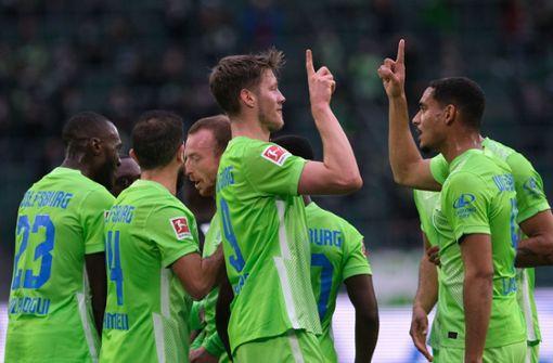 Erster Sieg für Wolfsburg: 2:1 gegen Aufsteiger Bielefeld