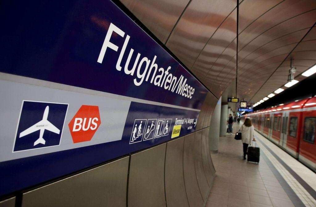 Die Pläne der Bahn zu Stuttgart 21 rund um den Flughafen werden den Verwaltungsgerichtshof in Mannheim beschäftigen. Foto: Lichtgut/Leif Piechowski