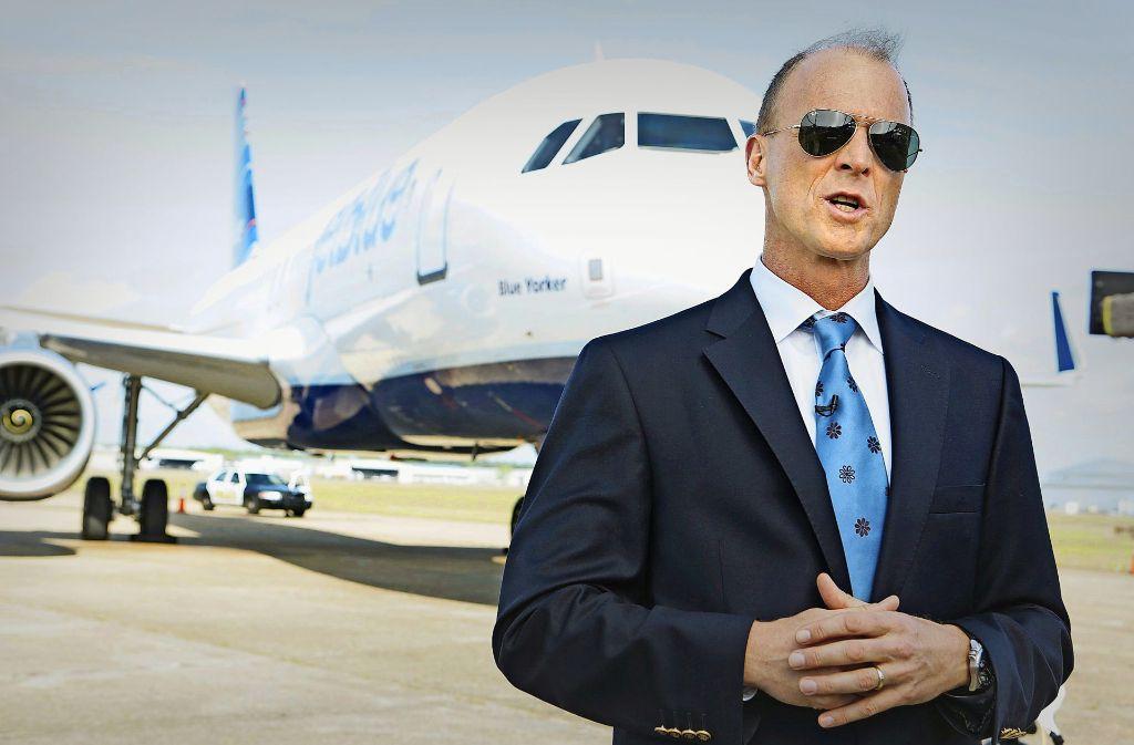Der  Noch-Chef Tom Enders gehört seit Anbeginn  zu dem im Jahr 2000  als    EADS gegründeten Luftfahrt- und Rüstungskonzern Airbus. Foto: