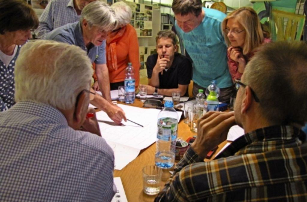 Baugemeinschaft bedeutet, dass sich die Mitglieder einig werden müssen. Weitere bildliche Eindrücke gibt es in unserer Fotostrecke. Foto: Sägesser