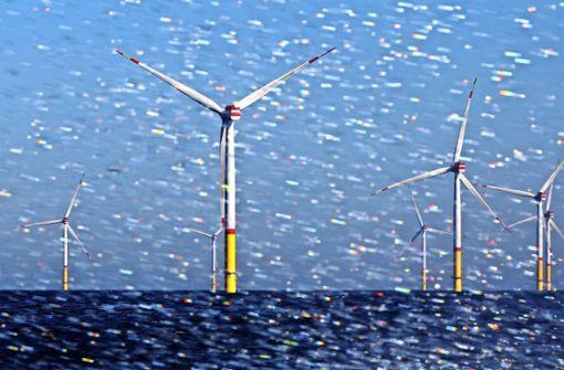 Giganten der Energiewende in der Ostsee