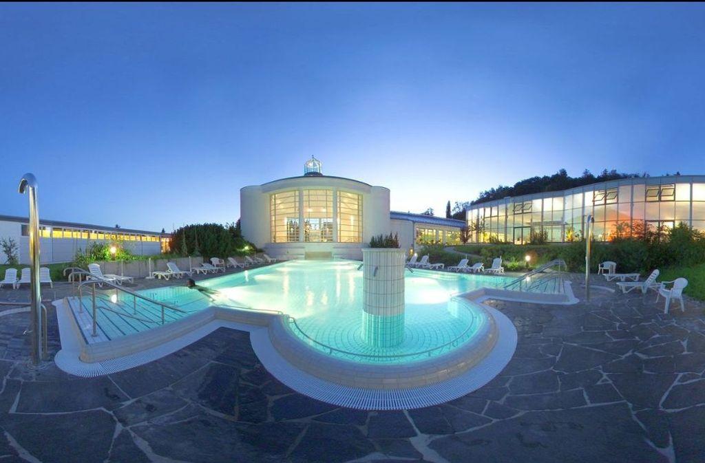 Außenansicht Therme und SPA. Foto: Parkhotel Jordanbad Lerch GmbH