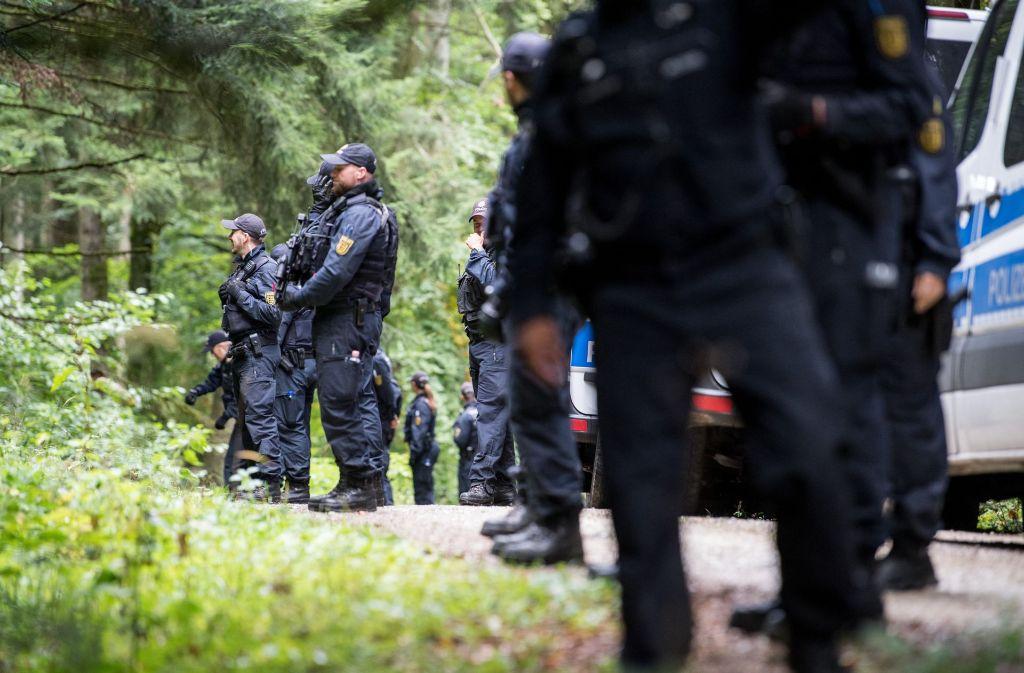 Die Polizei hat den mutßmaßlichen Todesschützen von Villingedorf nach tagelanger Suche festgenommen Foto: dpa
