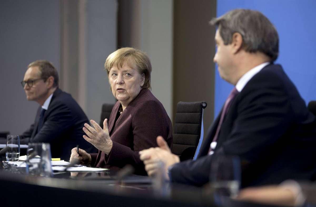 Das geplante Treffen zwischen Bund und Ländern am kommenden Montag wackelt. Foto: imago images/IPON/Stefan Boness