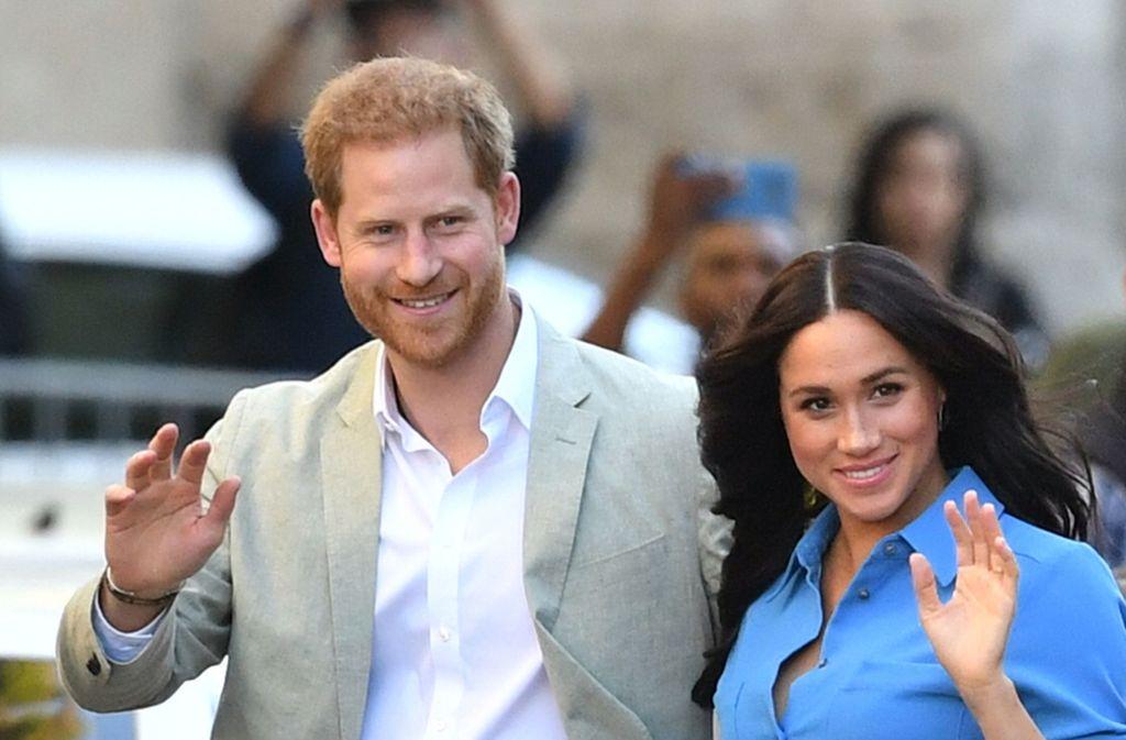 Meghan, Herzogin von Sussex, und Harry, Herzog von Sussex, befinden sich derzeit auf einer Reise durch Afrika. Foto: dpa/Dominic Lipinski