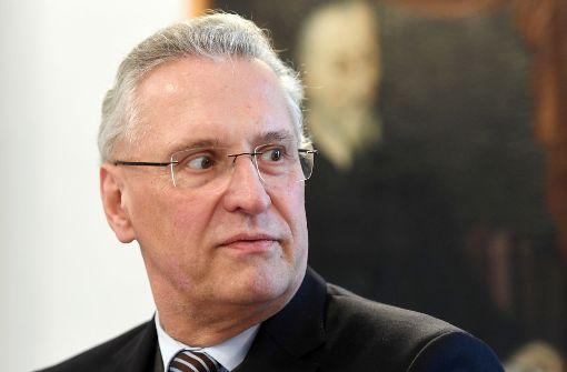 Joachim Herrmann als CSU-Spitzenkandidat im Gespräch