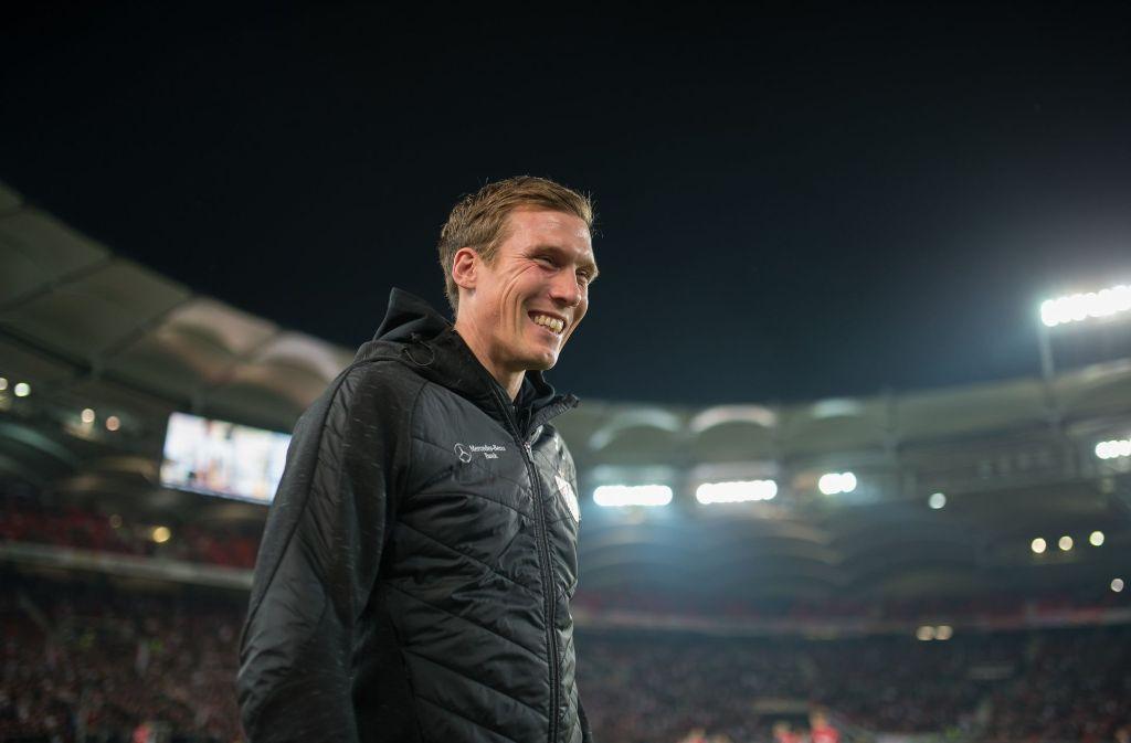 Hannes Wolf und der VfB Stuttgart treten an diesem Samstag bei RB Leipzig an. Foto: dpa