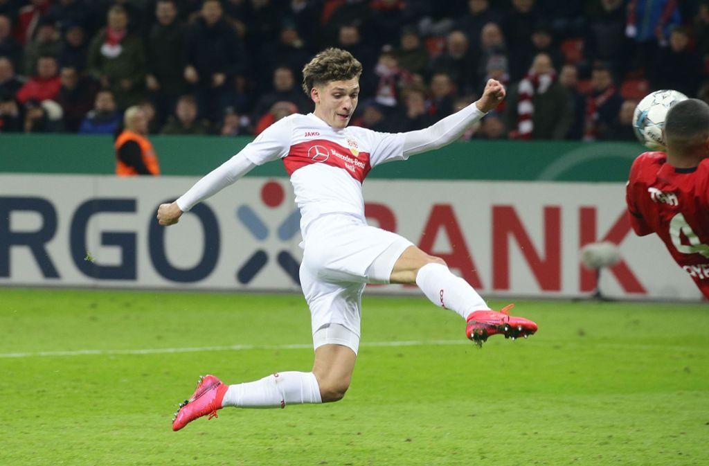 Mateo Klimowicz hatte die Chance zum Ausgleich auf dem Fuß. Foto: Pressefoto Baumann/Hansjürgen Britsch