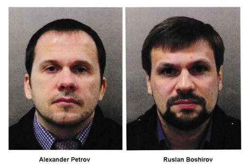 Britische Polizei sucht per Haftbefehl nach zwei Russen