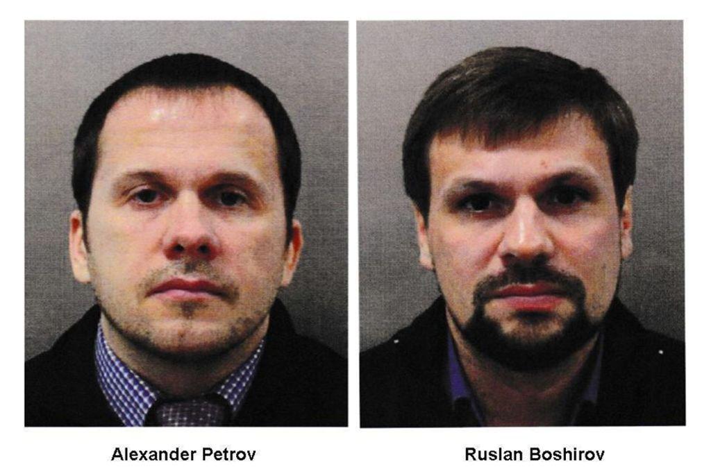 Die britische Polizei verdächtigt die Russen Alexander Petrow und Ruslan Boschirow. Foto: Metropolitan Police