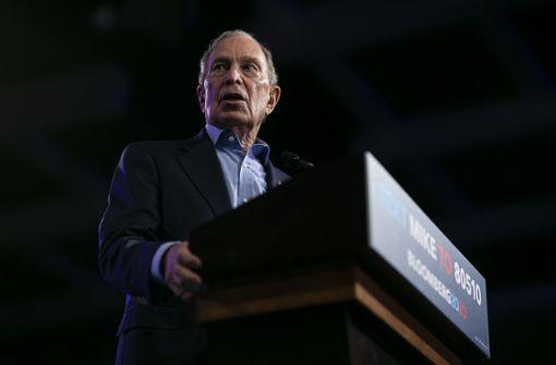 US-Milliardär Bloomberg steigt aus Rennen aus