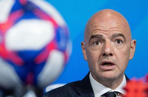 Fifa-Chef positiv auf das Coronavirus getestet