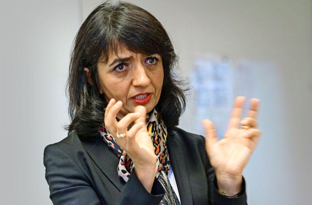 Die Grünen-Politikerin Muhterem Aras ist seit  2016  Präsidentin des baden-württembergischen Landtags. Foto: factum/Weise