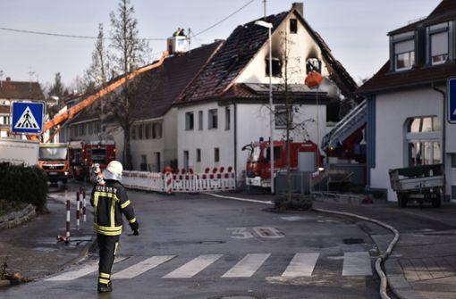 Säugling und Feuerwehrmann betroffen
