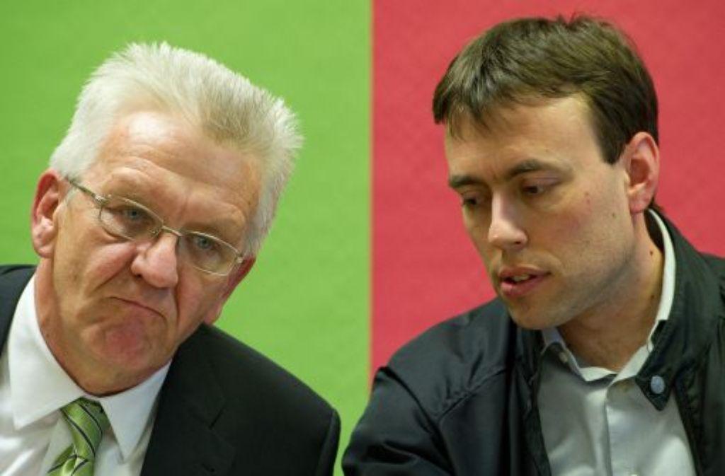 Die grün-rote Regierung hat den ersten Schritt hin zum Volksentscheid über das Bahnprojekt Stuttgart 21 beschlossen. Foto: dpa