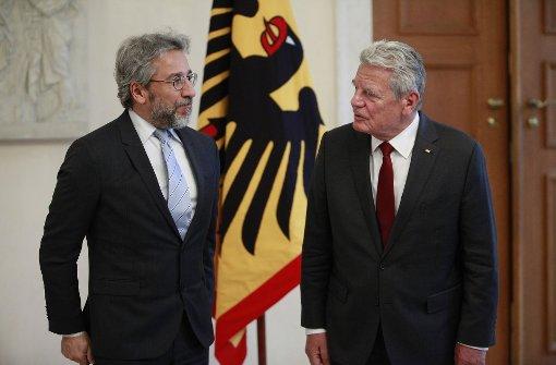 Gauck sorgt sich um die Türkei