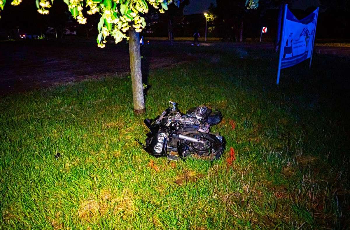 Der 32-Jährige zog sich bei dem Motorradunfall schwere Verletzungen zu. Foto: 7aktuell.de/Alexander Hald/7aktuell.de | Alexander Hald