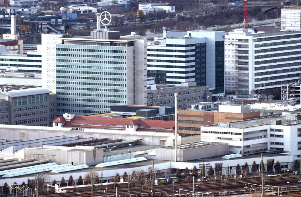 Ist das Mercedes-Werk in Untertürkheim ein Zentrum rechter Umtriebe? Foto: dpa