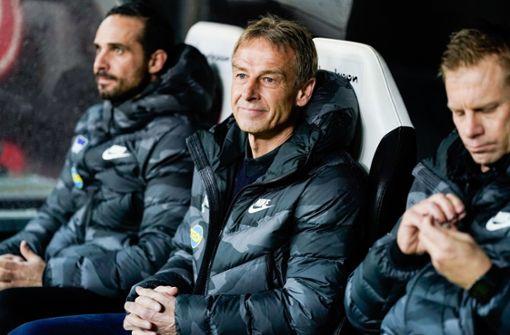 Klinsmann von Hertha-Punktpremiere begeistert