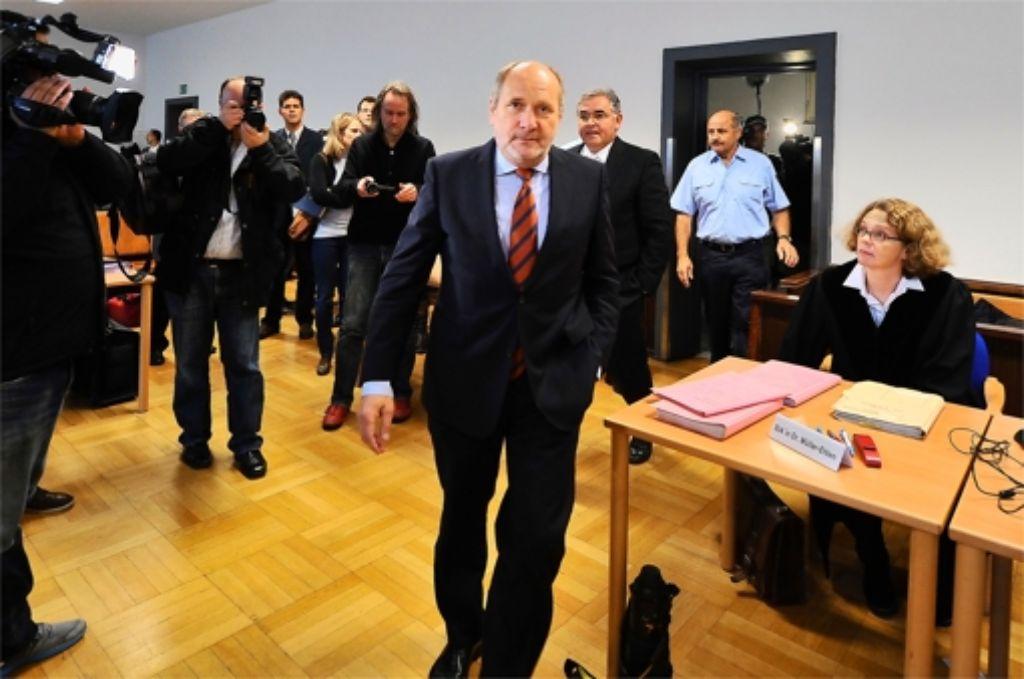 Ingolf Deubel geht zum Angriff über. Foto: dapd