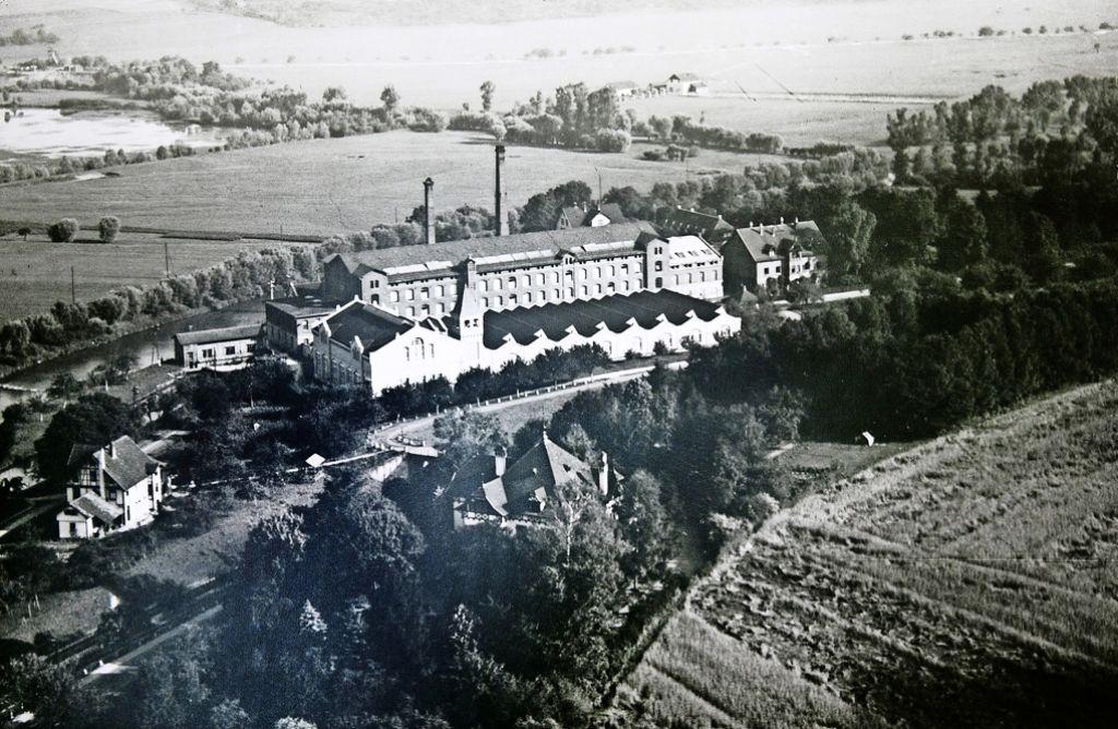 Otto expandierte von Nürtingen nach Wendlingen, Die Spinnerei in Unterboihingen ging im Jahr 1861 in Betrieb. Foto: Horst Rudel