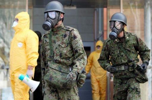 Japan kämpft gegen die atomare Katastrophe