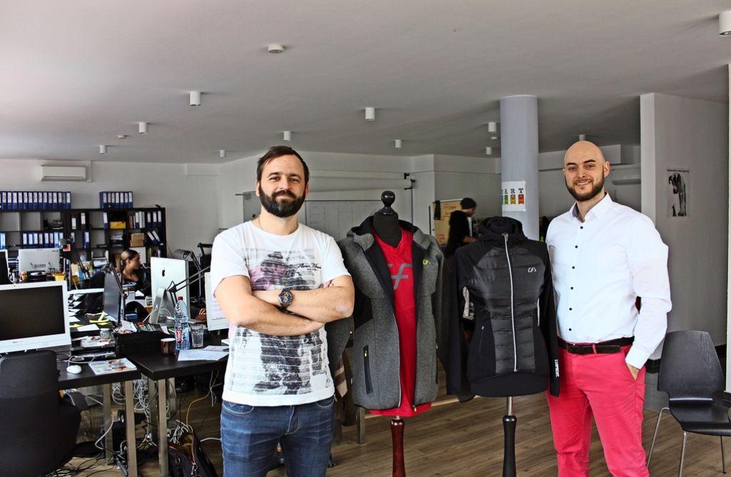 Firmengründer Aleksandar Duric (l.) und Philipp Deslandes Foto: Georg Friedel