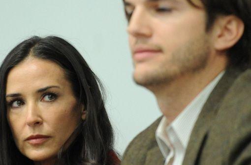 Demi Moore und Ashton Kutcher sind geschieden