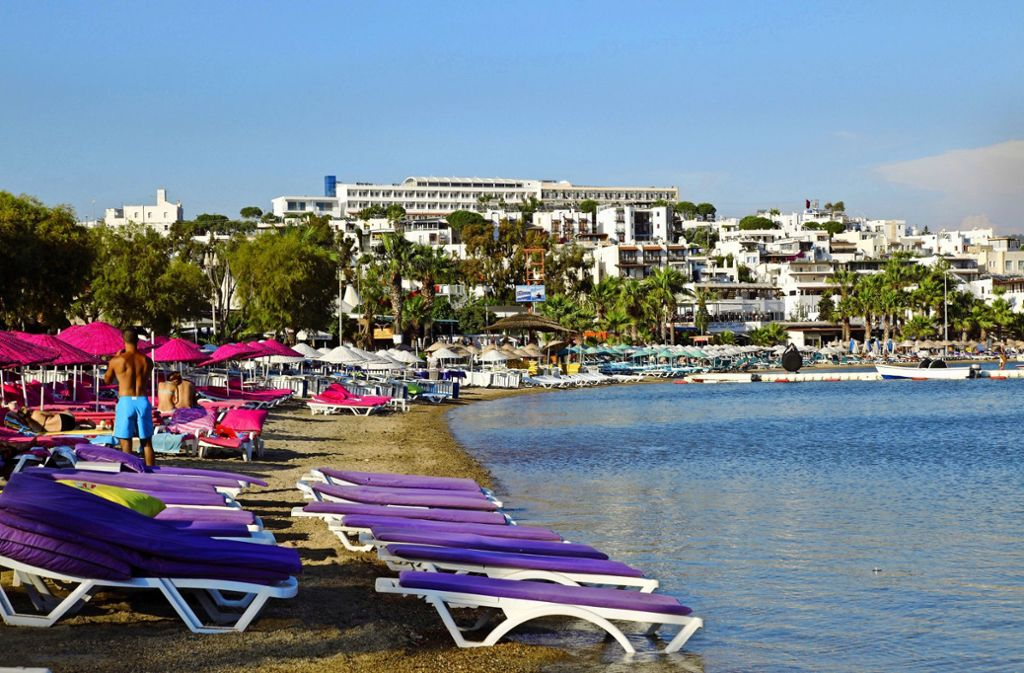 Schön verschandelt: Hotelanlagen auf der türkischen Halbinsel Bodrum Foto: picture alliance / Photononstop