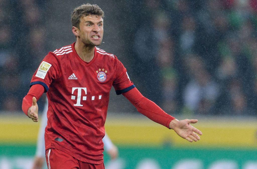 Thomas Müller meldet sich nach seinem DFB-Aus via Facebook-Video zu Wort. Foto: Bongarts
