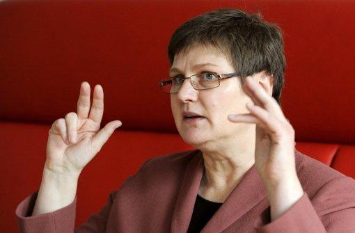 SPD-Landesvize und Verdi-Landesleiterin Leni Breymaier fordert striktere Maßnahmen gegen Zwangs- und Armutsprostitution. Foto: dpa