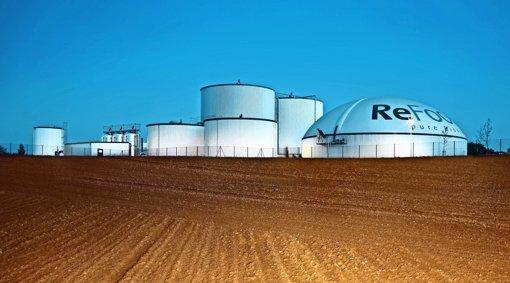 Umstrittene Biogasanlage liegt auf Eis
