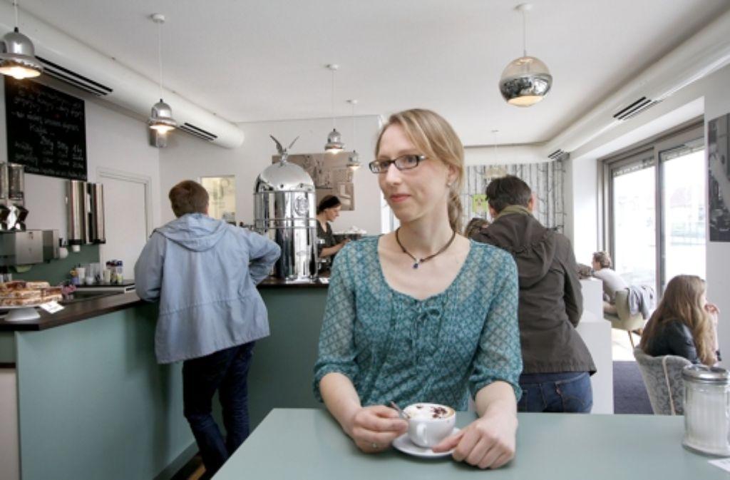 Kathrin Voigt hat momentan  selten Zeit für einen gemütlichen Cappuccino. Foto: factum/Granville