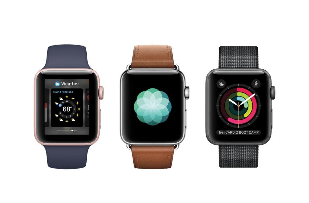 Die neue Apple Watch kann man auch beim Tauchen tragen. Foto: Apple Inc.