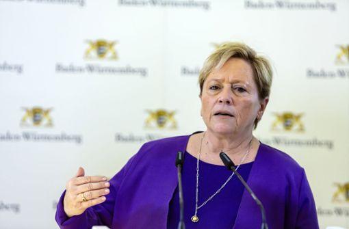 Es wird einsam um Ministerin Susanne Eisenmann