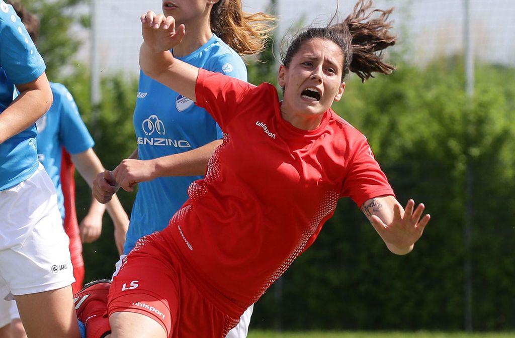 Dreifache Torschützin beim Start: Lisa Schade. Foto: Pressefoto Baumann/Hansjürgen Britsch